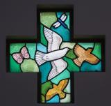 Birds, Butterfly and Dragonfly    from    Set of Windows Depicting the Creation