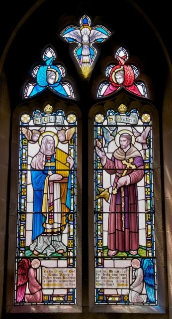 St Cecilia and St Francis